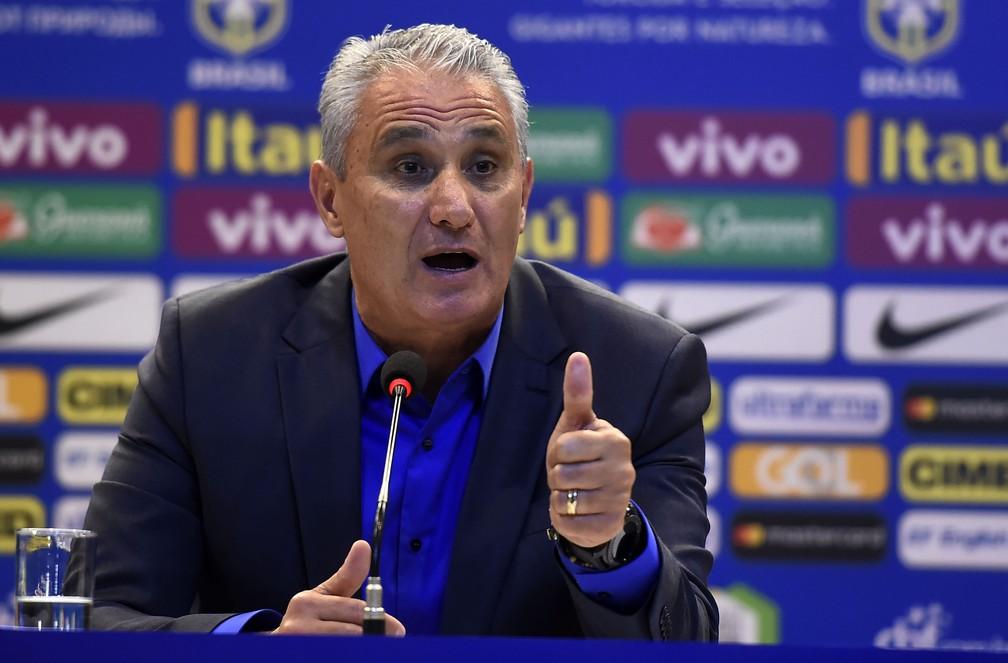 Tite anuncia a lista de convocados da Seleção para a Copa (Foto: André Durão)