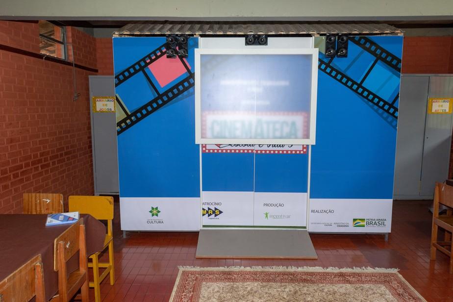 Projeto distribui gratuitamente cinematecas e bibliotecas para escolas públicas do Rio de Janeiro