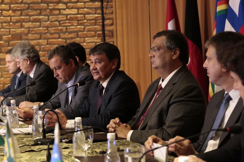 Wellington Dias defendeu integração para atuação conjunta (Foto: Jorge Bastos / Governo do Piauí)
