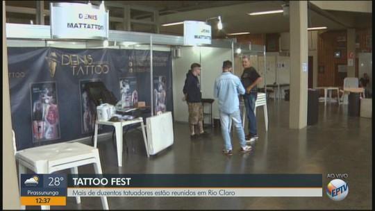 Centro Cultural de Rio Claro recebe 8ª edição do Tattoo Fest neste fim de semana
