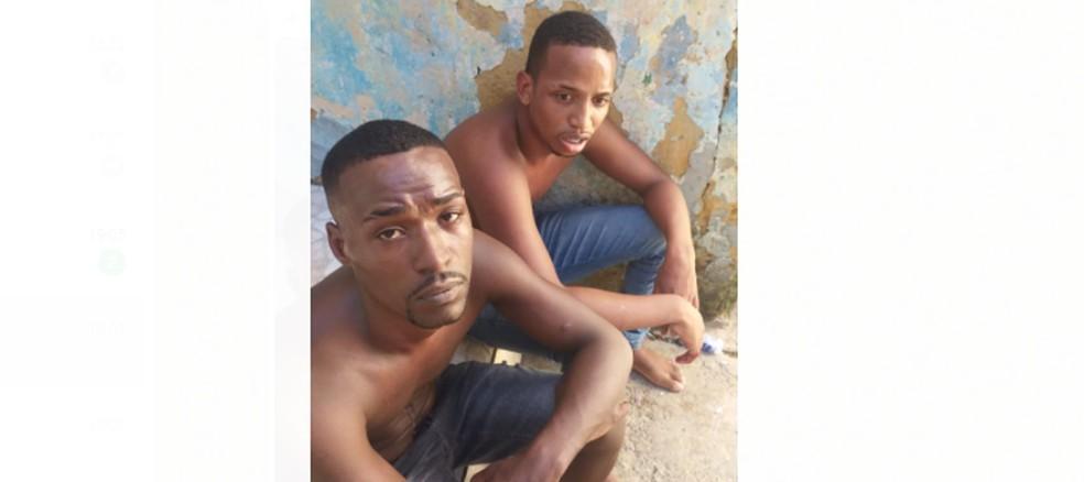 Bruno e Yan Barros foram torturados e mortos a tiros após furtarem carnes em mercado — Foto: Arquivo pessoal