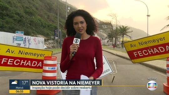 Avenida Niemeyer passa por nova avaliação