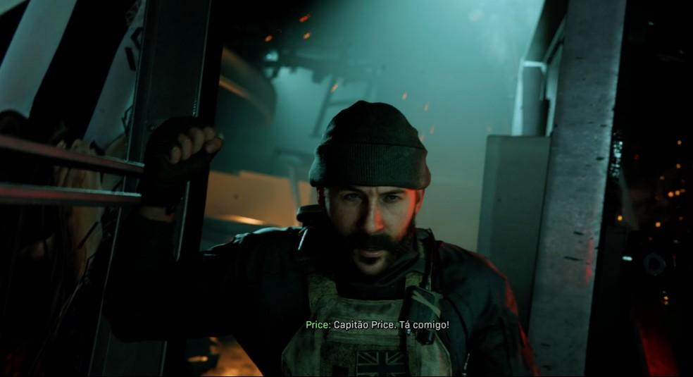 Call of Duty Modern Warfare traz de volta personagens famosos da série  — Foto: Reprodução / TechTudo