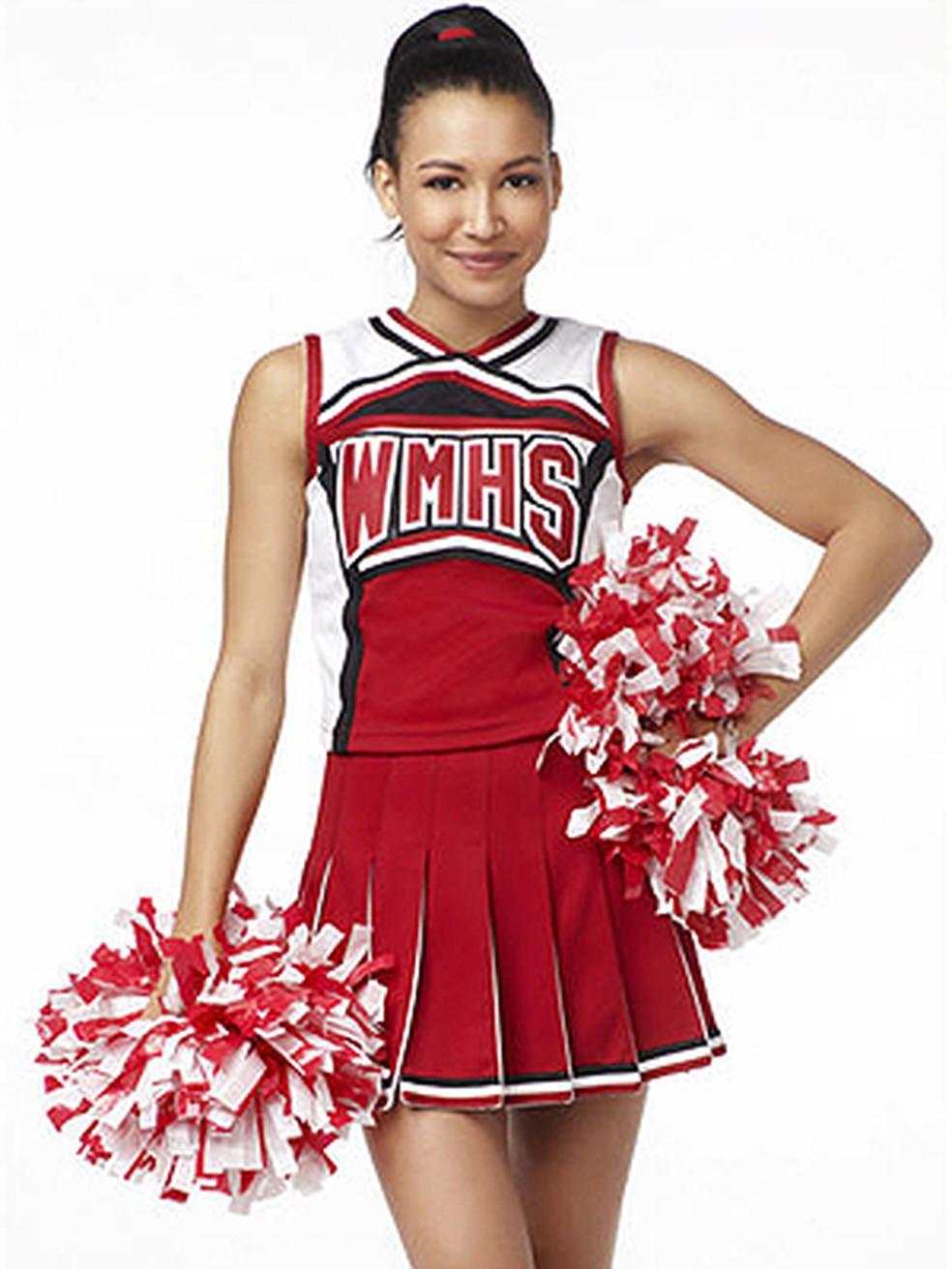 Naya Rivera em 'Glee' — Foto: Divulgação