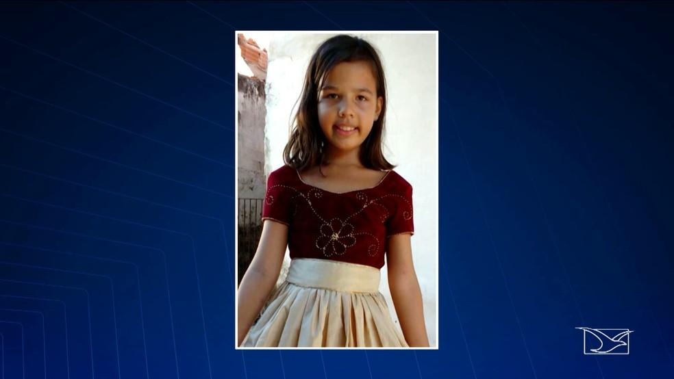 Alanna Ludmilla desapareceu no dia 1º de novembro de 2017, em Paço do Lumiar. (Foto: Reprodução/TV Mirante)