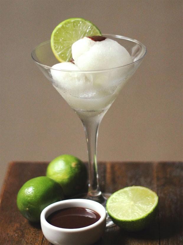 Sorbet de limão siciliano: receita fácil para fazer em casa já (Foto: Divulgação)