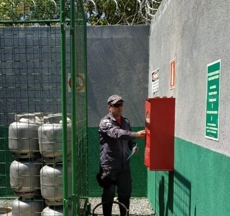 Bombeiros e Polícia Civil fazem operação Gás Legal em Taiobeiras e Salinas - Notícias - Plantão Diário