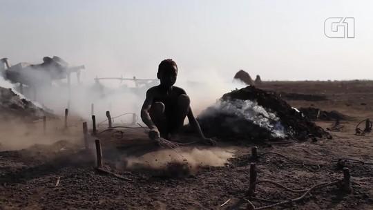 Brasileiro ajuda a construir poço para levar água potável a etnia remota no Sudão do Sul