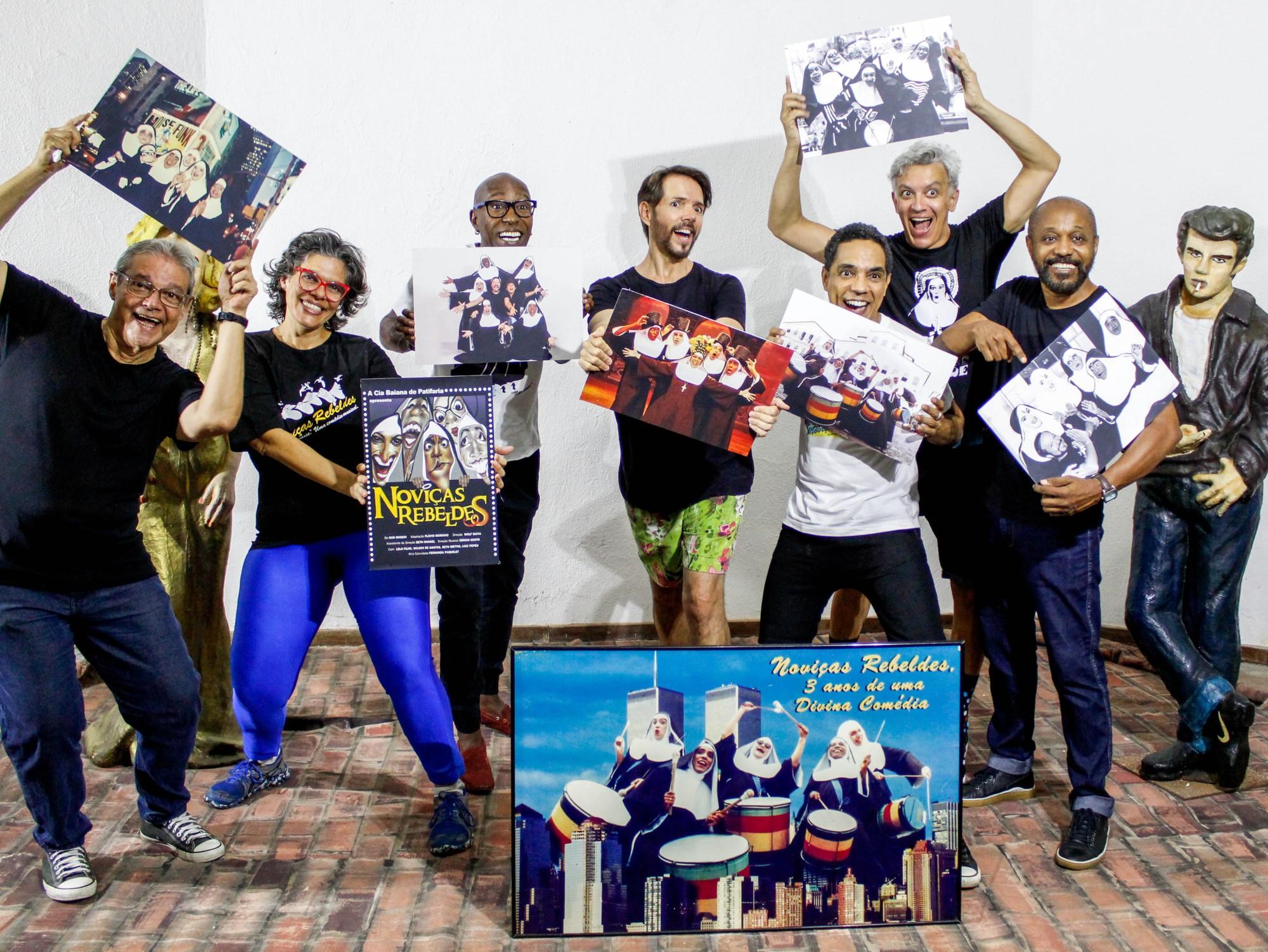Comédia musical 'A Noviça Mais Rebelde' está em cartaz em Salvador; confira