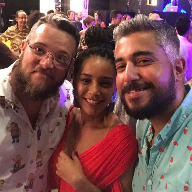Taís Araújo com João Márcio (Foto: Reprodução/Instagram)