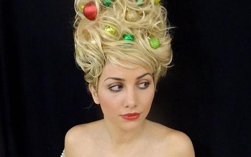 Árvore de Natal capilar é o novo penteado excêntrico da internet; veja!