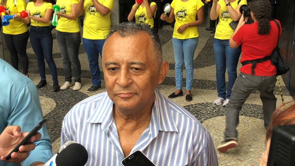 Antonio Francisco, pai da vereadora Marielle  — Foto: Bruno Albernaz / G1