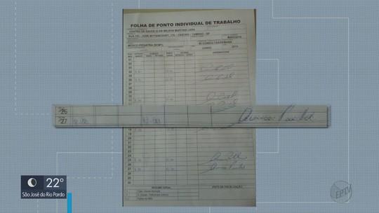TCE-SP encontra ponto com assinatura antecipada de médica em centro de saúde de Tambaú