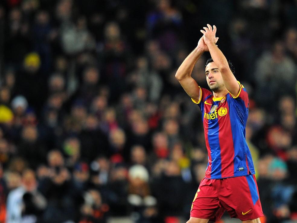 Xavi anuncia que este será sua última temporada como jogador (Foto: AFP)
