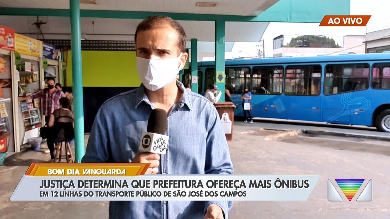 Justiça determina que prefeitura de São José ofereça mais ônibus