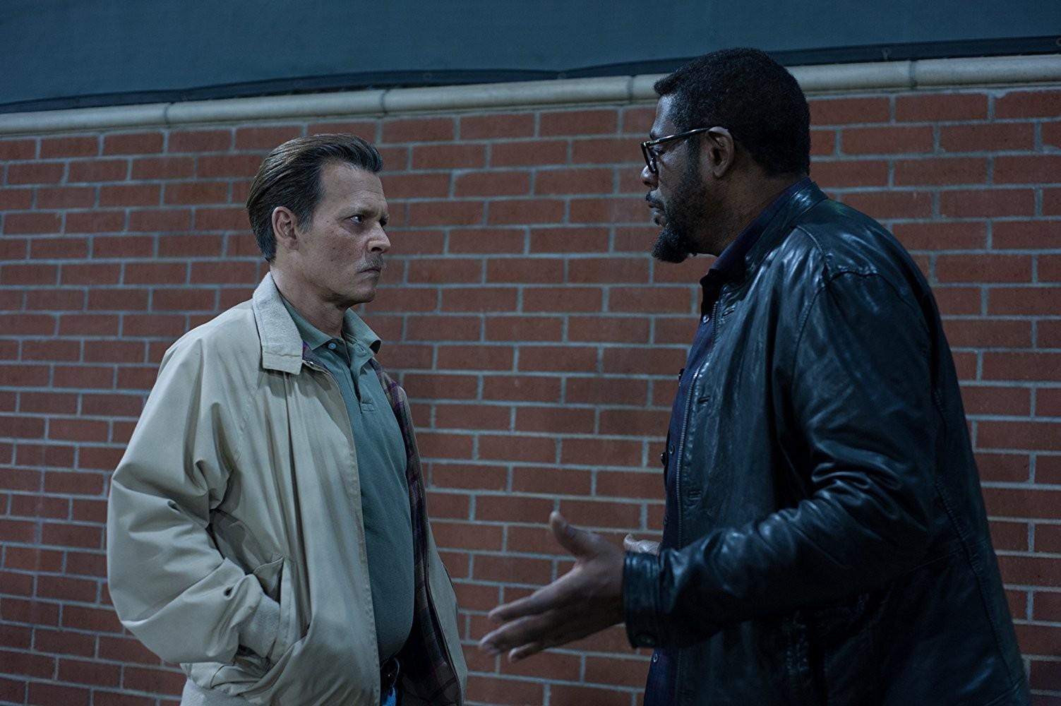 Johnny Depp e Forest Whittaker em City of Lies (Foto: Divulgação)