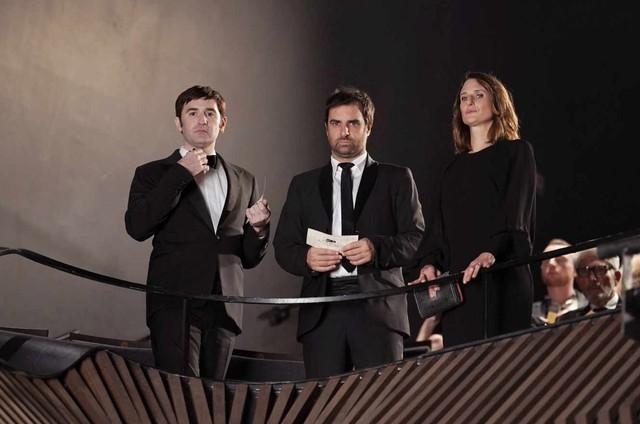 Cena da quarta temporada de 'Dix pour cent' (Foto: Christophe Brachet/FTV/Monvoisin Prod)