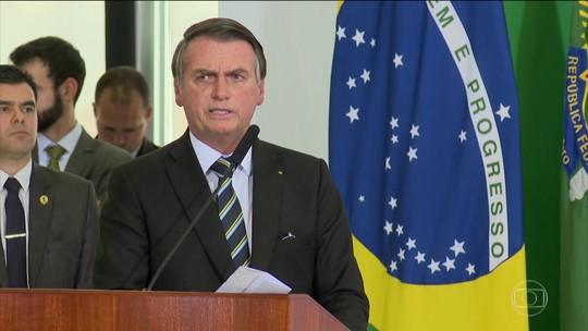 Presidente Jair Bolsonaro anuncia mudanças na Ancine
