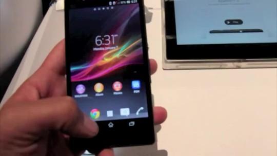 Testamos o Xperia Z, o novo top de linha da Sony