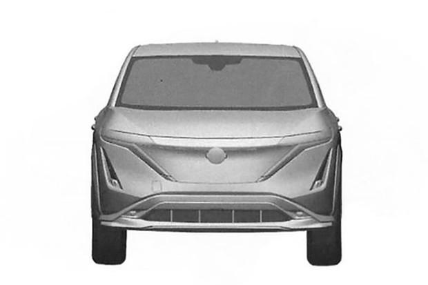Nissan Ariya patente (Foto: Reprodução)
