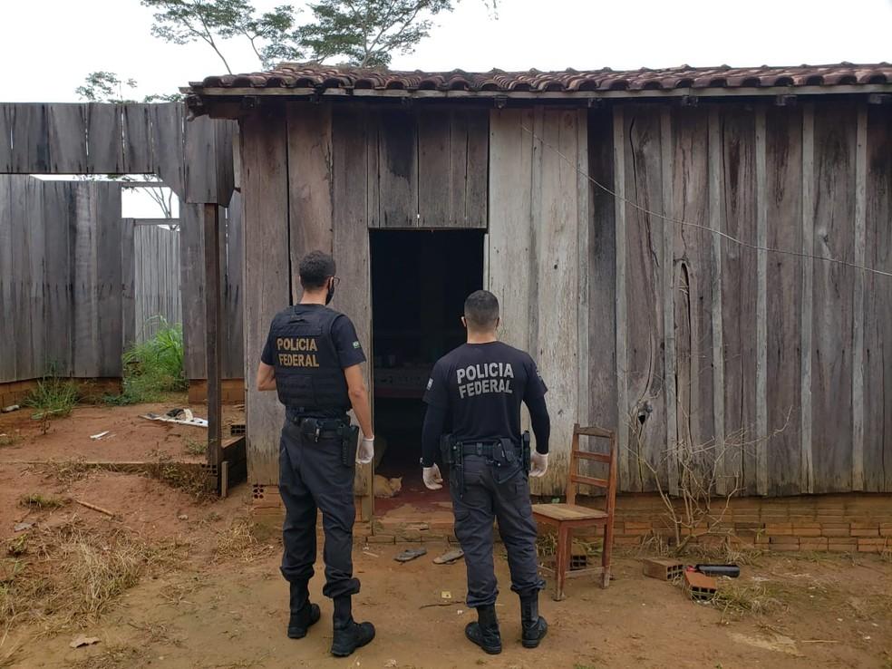 Operação Coordenação é realizada em Rondônia — Foto: PF/Divulgação