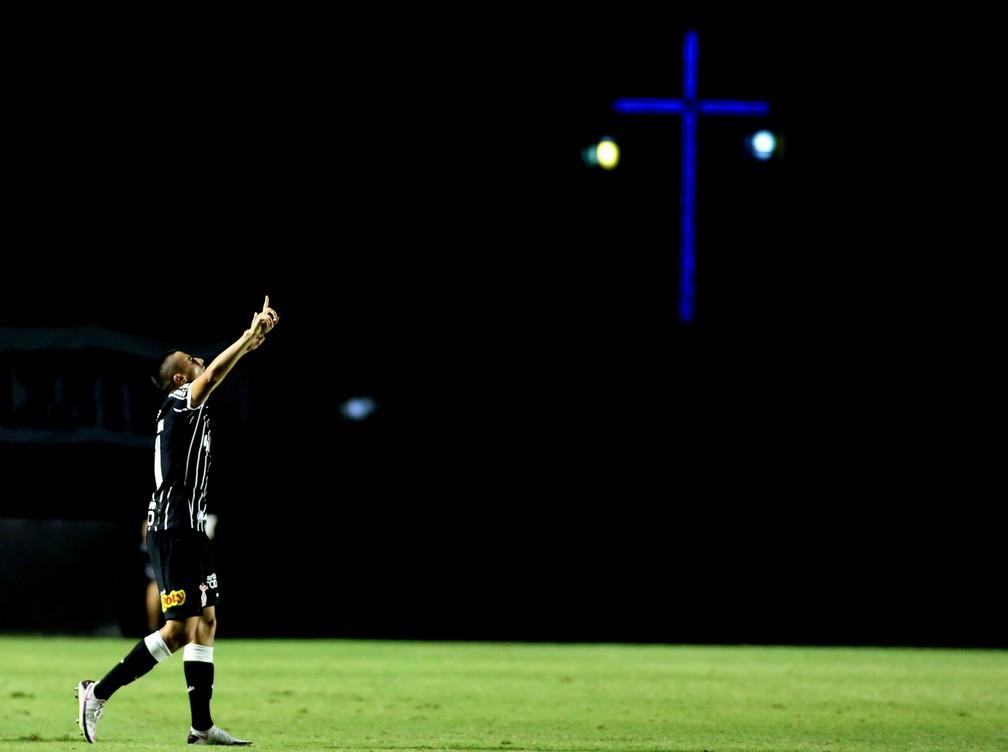Gustavo Mantuan ganhou espaço com Mancini e fez gol contra o Vasco — Foto: Rodrigo Coca/Ag. Corinthians
