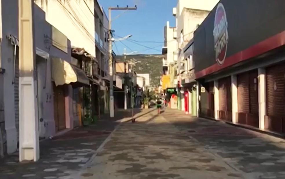 Tremores de terra são registrados em Jacobina — Foto: Reprodução/TV Bahia