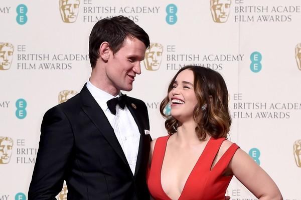 Matt Smith e Emilia Clarke (Foto: Getty Images)