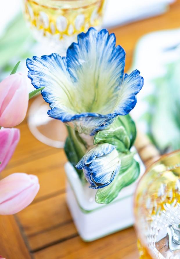Vamos Receber: almoço florido para celebrar a primavera (Foto: DOUGLAS DANIEL)