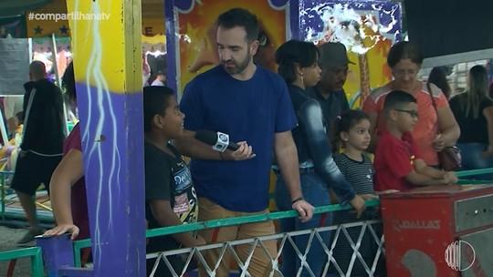 'Compartilha' dá rolê pela Festa Nordestina de Suzano