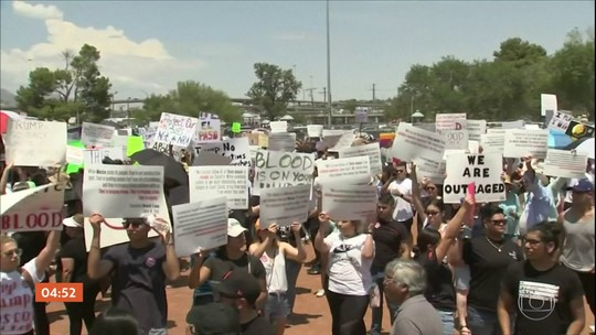 Protestos marcam a visita de Trump às cidades de El Paso e Dayton