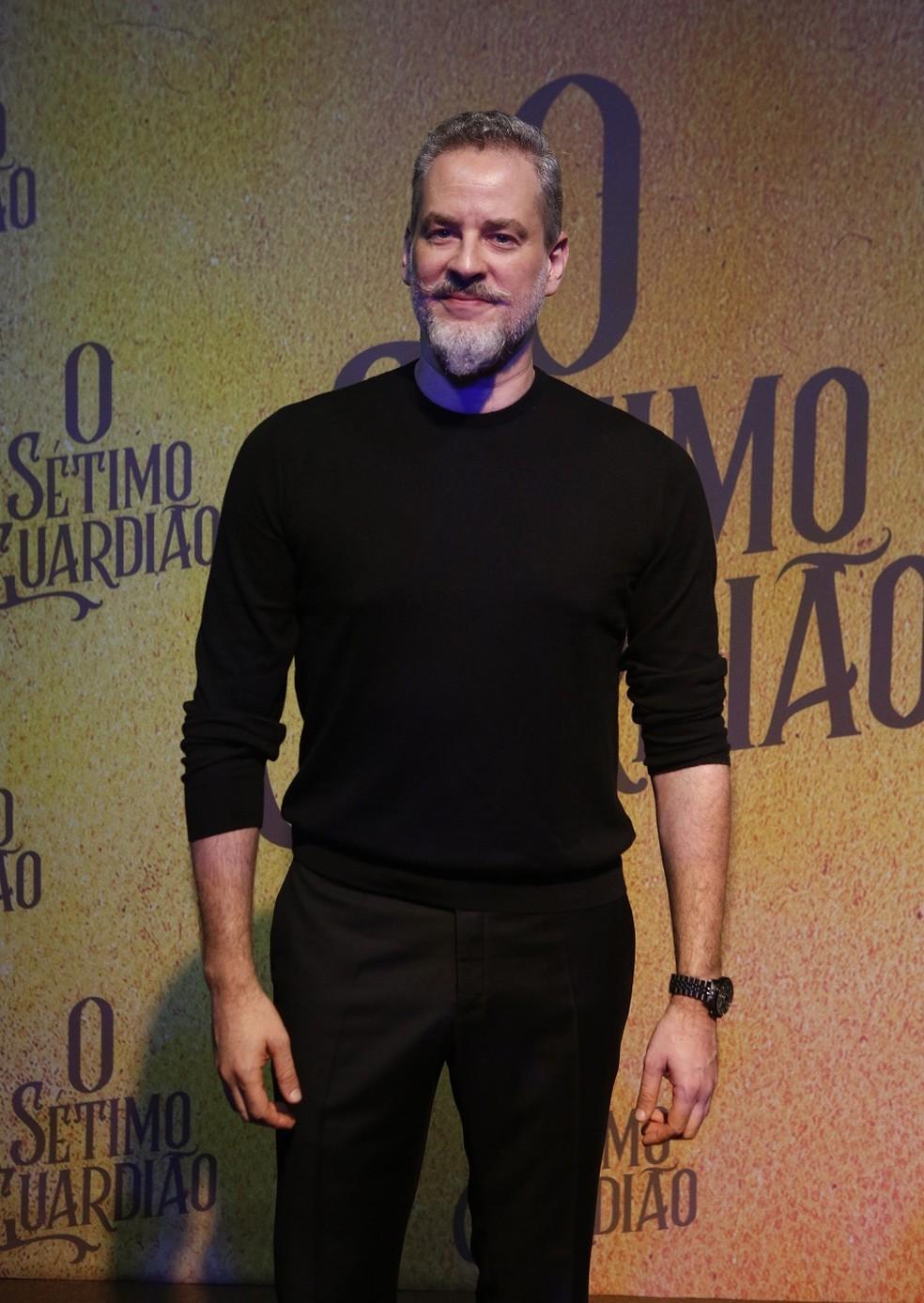 Dan Stulbach será o prefeito de Serro Azul em 'O Sétimo Guardião' — Foto: Fabiano Battaglin/Gshow