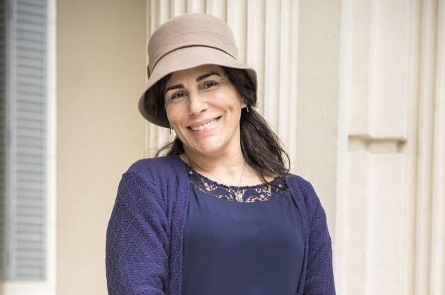 Glória Pires em 'Éramos seis' (Foto: Raquel Cunha/ TV Globo.)