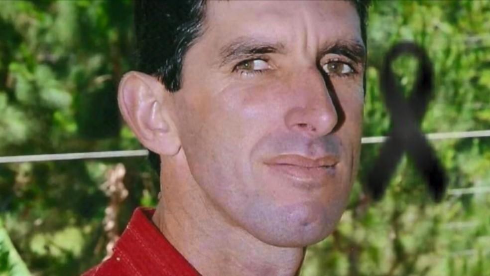 Empresário Gerson João Modolo foi assassinado a pauladas em sua pousada — Foto: Reprodução/TV Gazeta