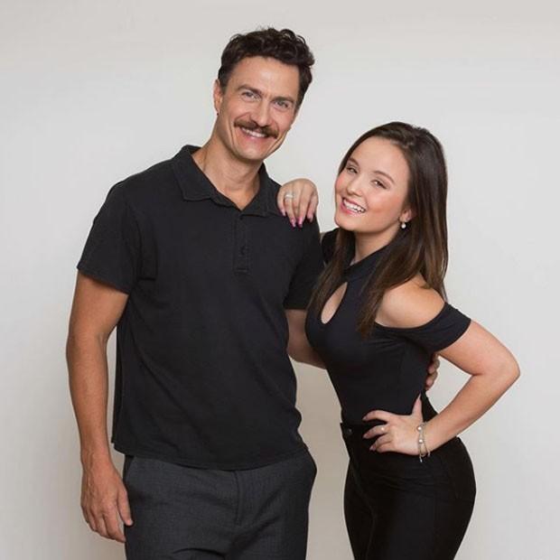 Gabriel Braga Nunes e Larissa Manoela (Foto: divulgação)