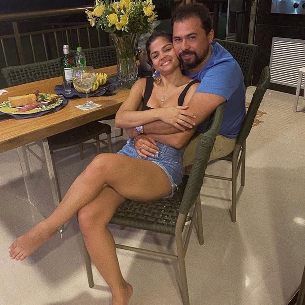 Xand e a mulher, Isabele Temóteo (Foto: Reprodução/ Instagram)