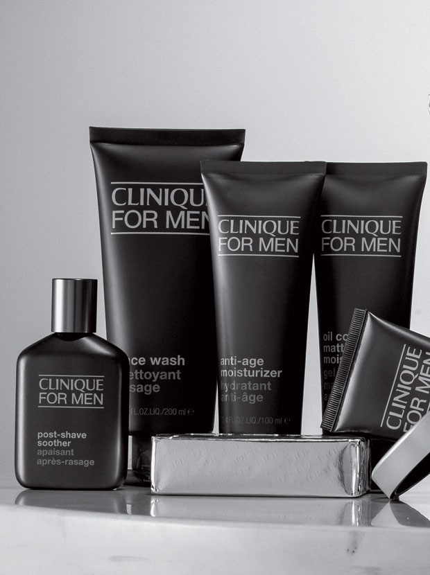 Linha Clinique for Men (Foto: GQ)