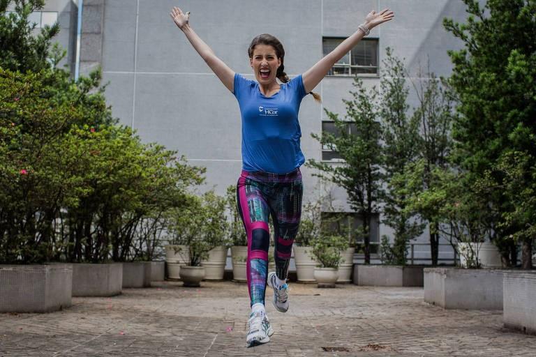 Patrícia Fonseca virou triatleta logo após um transplante de coração (Foto: Divulgação)