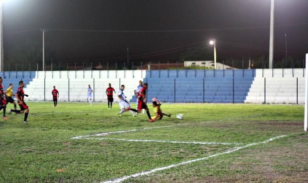 Parnahyba x Flamengo-PI, Copa Piauí  (Foto: Blog do Jonys)