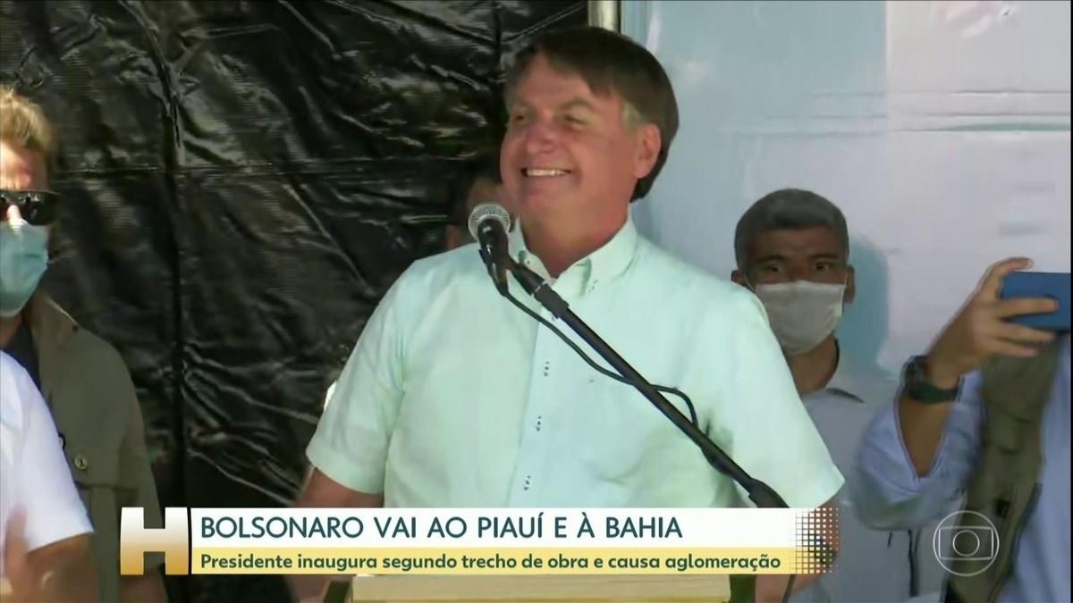 Após se dizer curado da Covid-19, Bolsonaro faz exame e diz ter 'fraqueza' e 'um pouco de infecção' – G1