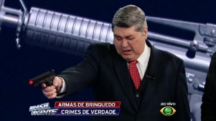 José Luiz Datena (Foto: Divulgação/Rede Record)
