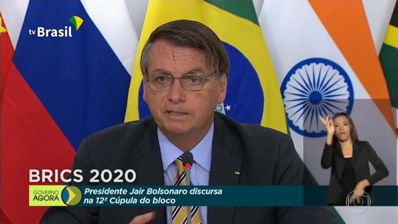 Bolsonaro diz que países que criticam política ambiental do Brasil importam madeira ilegal