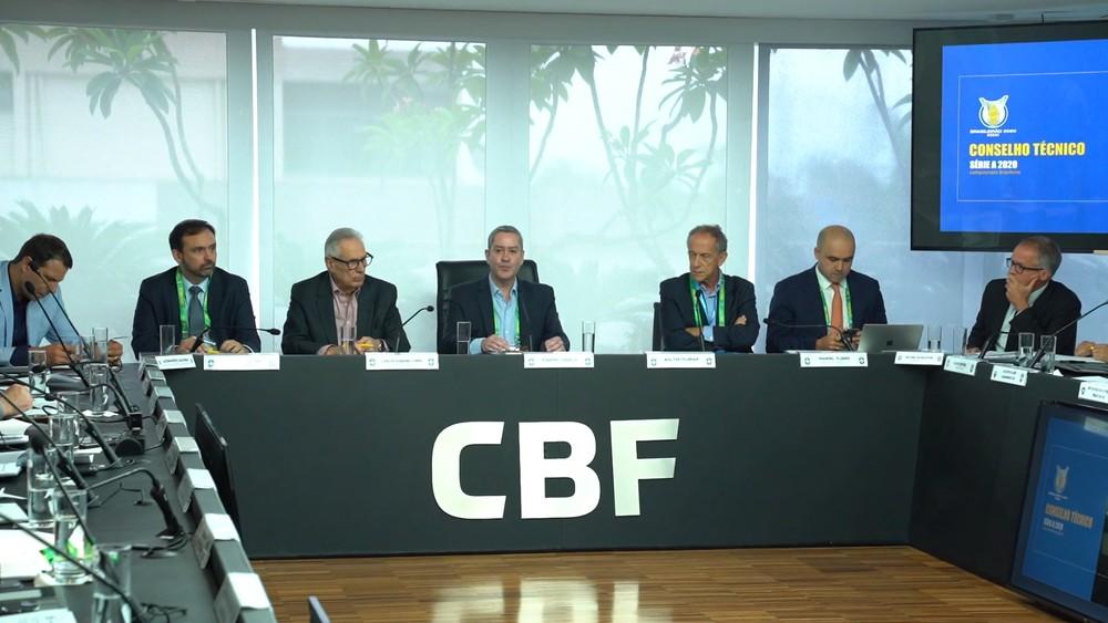 Clubes vetam venda de mando em reuni�o do Brasileiro na CBF, e Landim ironiza: �� compreens�vel�