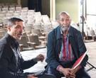 """Charles Gavin entrevista o ídolo do jazz Ron Carter para o programa """"O som do vinil, no Canal Brasil/ Foto: Thiago Freitas"""