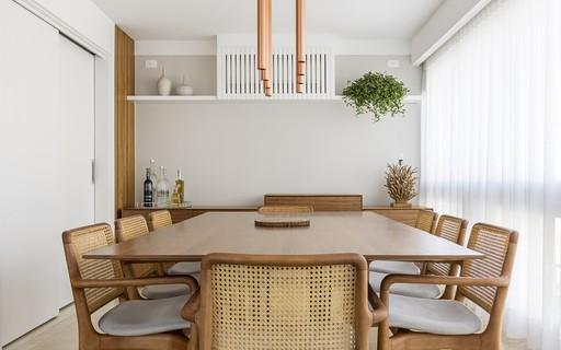 Sala de jantar: dicas para acertar na escolha dos móveis e iluminação