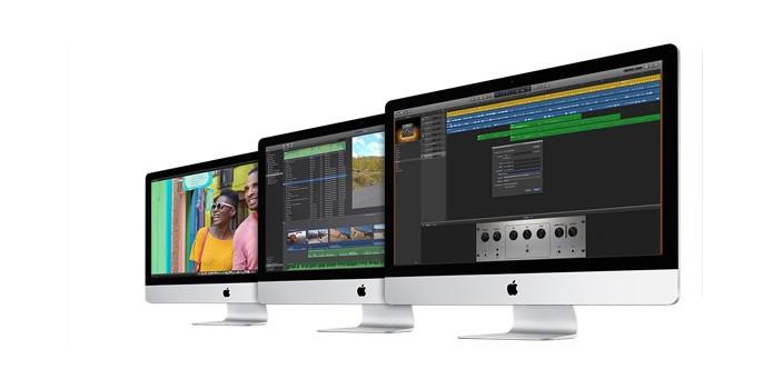 iMacs, assim como Macbooks, poderão ganhar versões baratas e com chip ARM já na próxima semana (Foto: Divulgação/Apple)