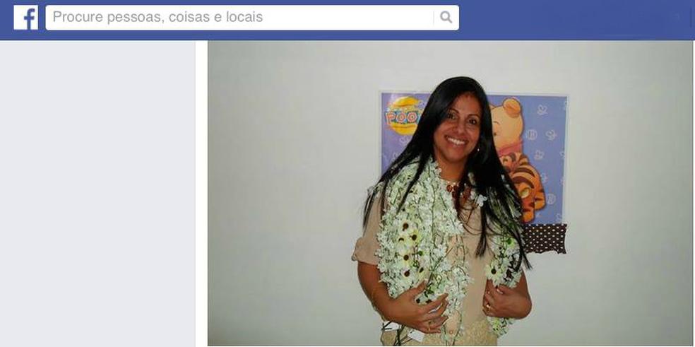 Patrícia Manhães foi baleada e o marido, que confessou o crime, chegou a levá-la para o hospital (Foto: Reprodução/Facebook)