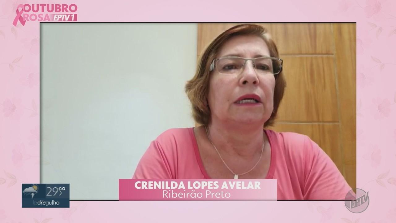 Outubro Rosa: Veja a história de superação de Crenilda Lopes Avelar