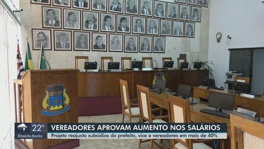 Vereadores de São João da Boa Vista aprovam o aumento de salários em quase 42%