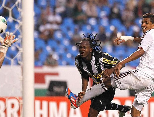 Andrezinho, Botafogo x Fluminense (Foto: Wagner Meier / AGIF)